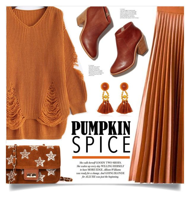 """""""Monochrome: Pumpkin Spice"""" by mahafromkailash ❤ liked on Polyvore"""