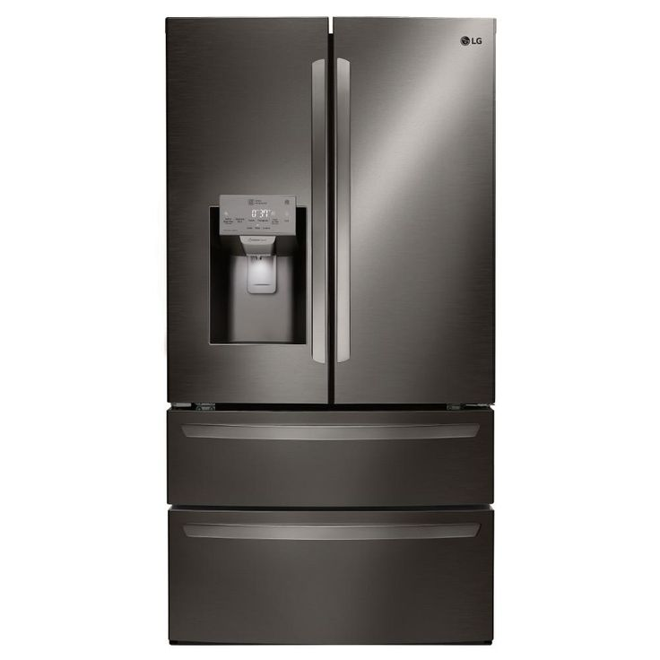 LG Electronics 27.8 cu. ft. French Door Refrigerator in Black Stainless Steel