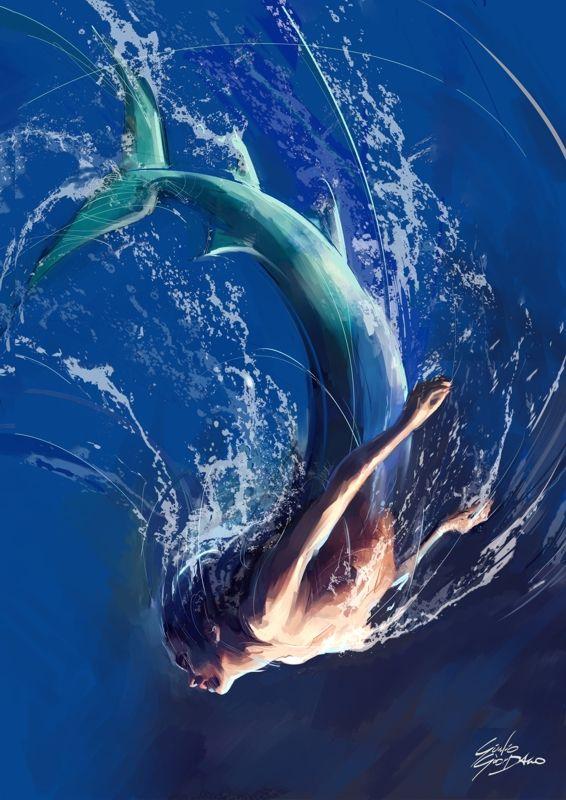Sirena -Digital Art - ©2013 ~Giulio Giordano.
