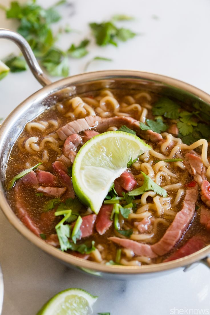 You'll never go back to powdered flavor packets with this easy homemade beef ramen recipe