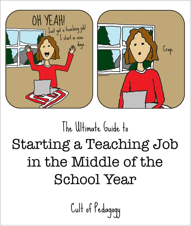 The Ultimate Guide to Starting a Teaching Job in the Middle of the School Year | Cult of Pedagogy
