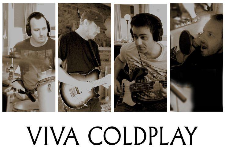 Viva Coldplay in the studio