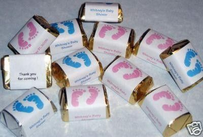Footprints Candy Wrappers Labels Personalized by BodaciousDesignz ...