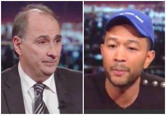 John Legend Shuts Down David Axelrod For Saying Trump Isn't Racist