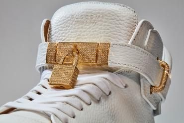 Check out these $132,000 diamond sneakers that are probably the most expensive shoes in the world