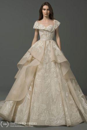 fcf1b8bce5692 Saiid Kobeisy 2019 Spring Evening Collection | The FashionBrides | Wedding  in 2019 | Gorgeous wedding dress, Bridal elegance, Bridal gowns