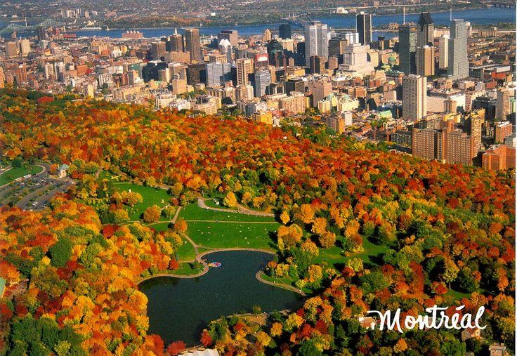 Mont Royal park - Montreal, Quebec