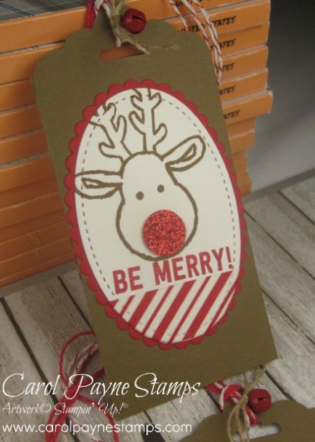 Stampin' Up!, Cookie Cutter Christmas, Stitched Shapes Framelits, Candy Cane Lane Washi Tape, DIY Christmas Crafts, http://www.stampinup.net/esuite/home/carolpayne/