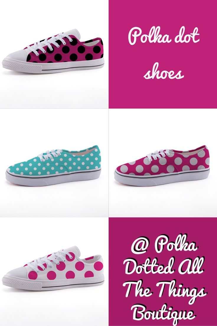 Check out your favorite custom polka dot canvas shoes from Polka Dotted All the Things Boutique! #womensshoes  #womensfashion
