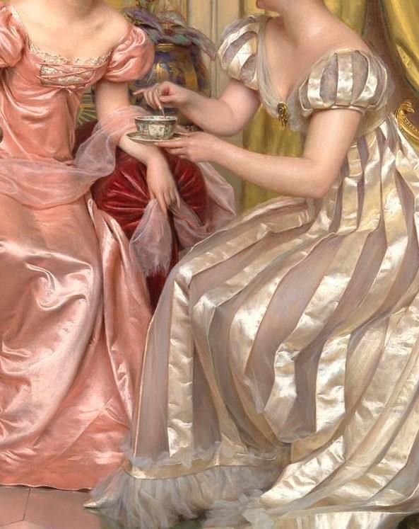Afternoon+Tea+(Detalle) Frédéric Soulacroix