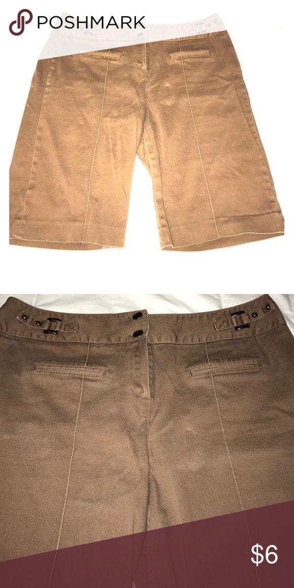 Women's Bermuda Shorts Women's brown Bermuda shorts Shorts Bermudas