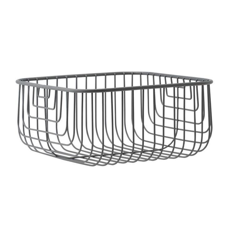 Just Wire er en grafisk trådkurv, hvor du kan opbevare småting og nips, som gerne må være synlige.
