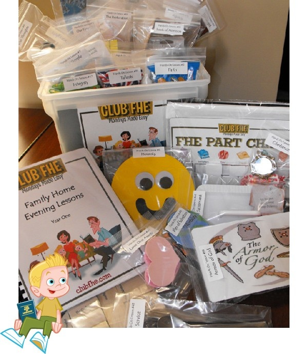 Club FHE Lesson Kit. My friend has these and her family LOVES them.