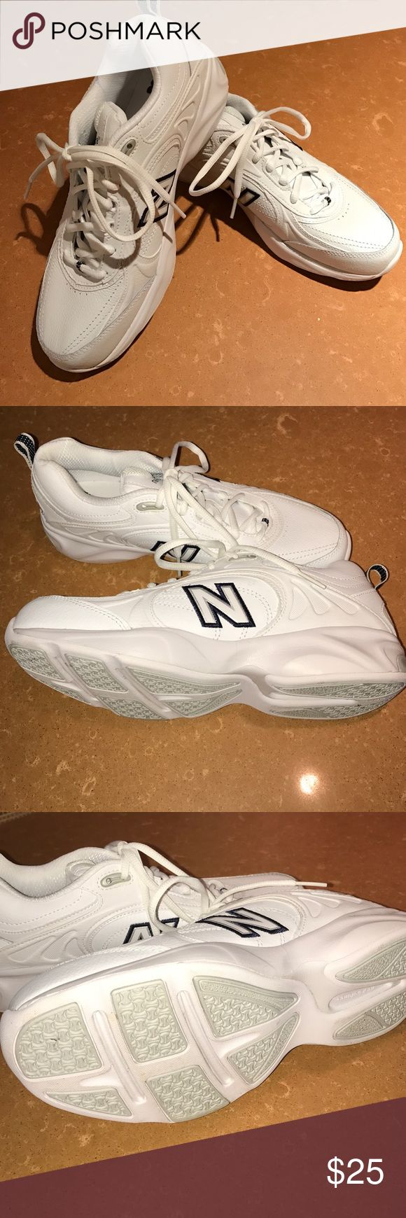 Gym shoes New Balance 623 all white athletic shoe.  Never worn. New Balance Shoes Athletic Shoes