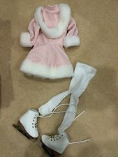 """Original 23"""" My Twinn Doll Retired ice skating outfit with ice skates"""