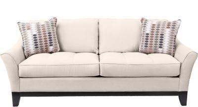 Cindy Crawford Home Newport Cove Vanilla Sofa Dream Living Room Pinterest And