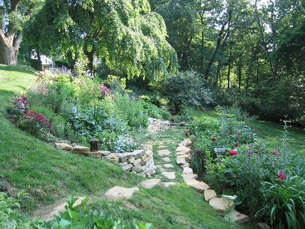 17 best images about garden ideas steep slopes on for Garden designs for steep slopes