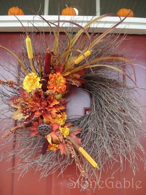 Diy Home Decor Diy Fall Crafts Diy Repurposed Wreath Diy Fall