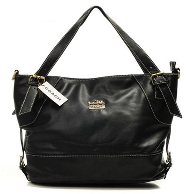 Black Coach Hobo Bag dokuz limited offer,no taxes and free shipping.#handbags #design #totebag #fashionbag #shoppingbag #womenbag #womensfashion #luxurydesign #luxurybag #coach #handbagsale #coachhandbags #totebag #coachbag