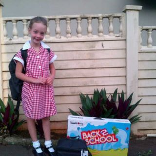 Meigan started grade 1 this year.