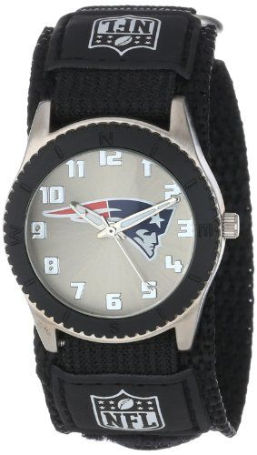 Game Time Mid-Size NFL-ROB-NE Rookie New England Patriots Rookie Black Series Watch - http://www.watchesandstuff.com/game-time-mid-size-nfl-rob-ne-rookie-new-england-patriots-rookie-black-series-watch/