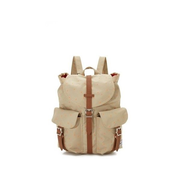 Herschel Supply Co. Dawson Backpack (85 CAD) ❤ liked on Polyvore featuring bags, backpacks, backpack bags, herschel supply co backpack, padded backpack, polka dot bags and herschel supply co bag