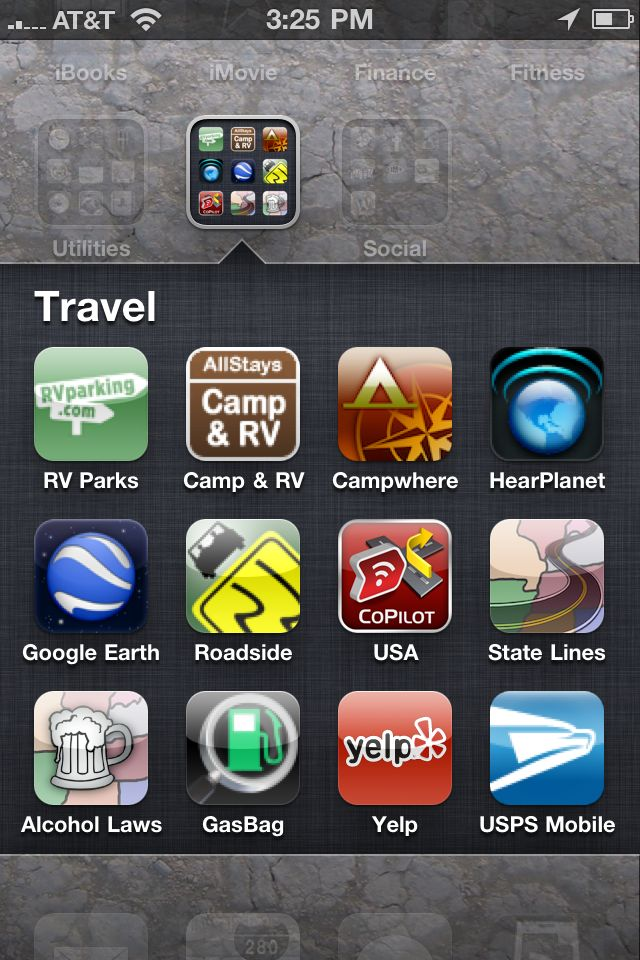 iPhone App Essentials for RV Travel