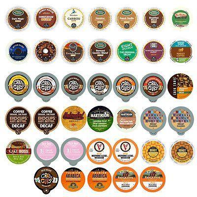 Decaf Coffee Single Serve Cups For Keurig K cup Variety Pack Sampler,40-count