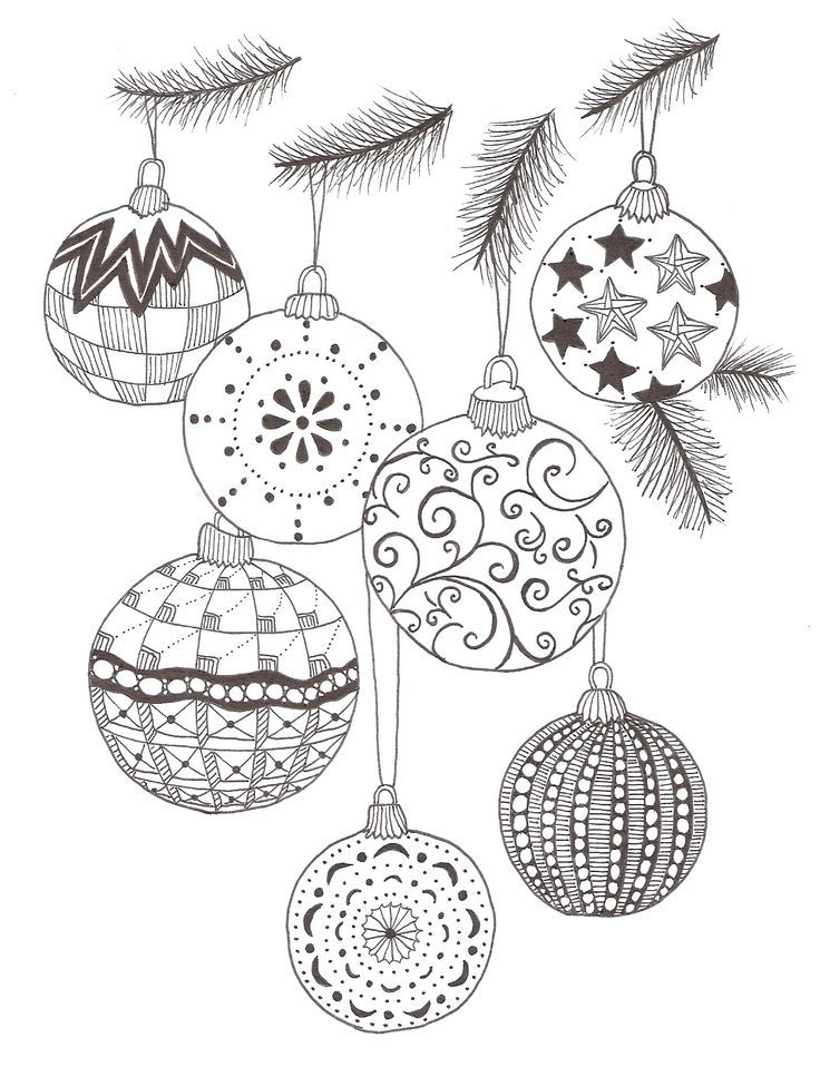 Christmas Zentangle Patterns | Christmas Coloring Images | Pinterest ...
