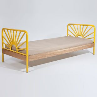 Sand Furniture Sunrise Bed - a happy little bed to wake up in...