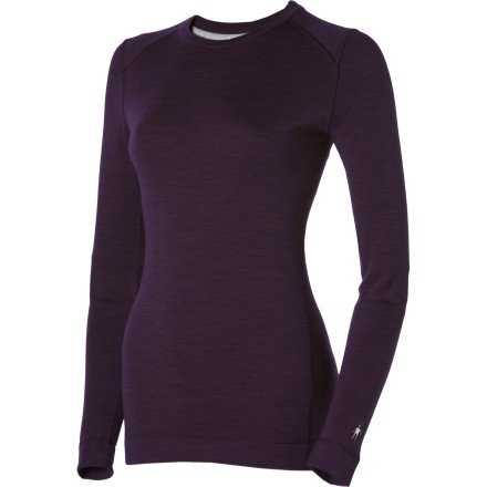 Smartwool Women's Midweight Crew, Deep Purple Heather size XS.    List Price: $80.00  Buy New: $47.97	   You Save: 40%  Deal by: AthleticClothingShop.com