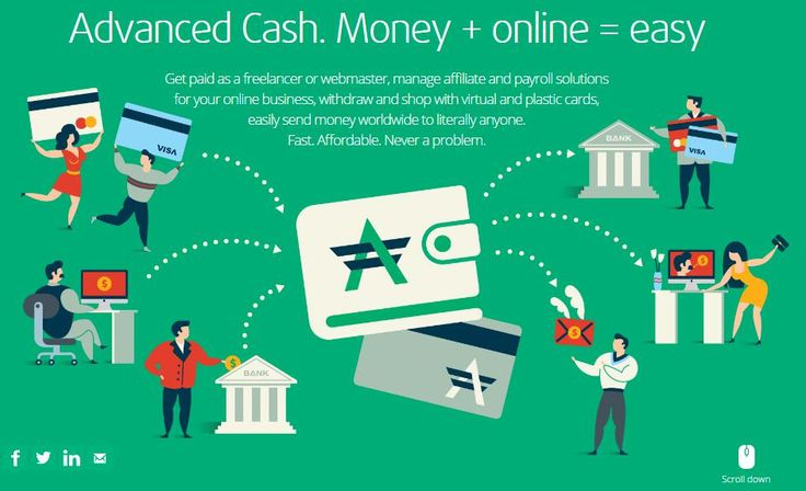 Send and receive money from anywhere in the world. Order a plastic MasterСard card and use it all around the Globe http://wallet.advcash.com/referral/d2eee9f0-d66a-460d-8c49-c6133303059a