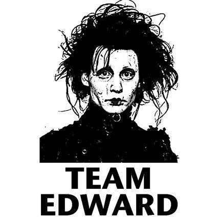 This.: Teamedward, Johnny Depp, Edward Scissorhands, Random, Movie, Team Edward, Real Team, Tim Burton, The Originals