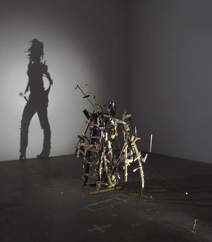 Sculpture d'ombre de Tim Noble et Sue Webster