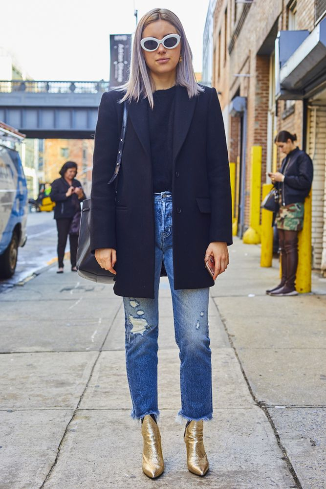 A slideshow of NYFW FW17 street style, updated daily.