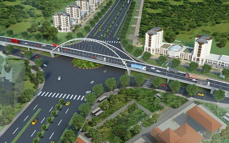 Hình ảnh cầu vượt BigC - Ngã tư Lê Hồng Phong và Nguyễn Bỉnh Khiêm - Hải Phòng AZ