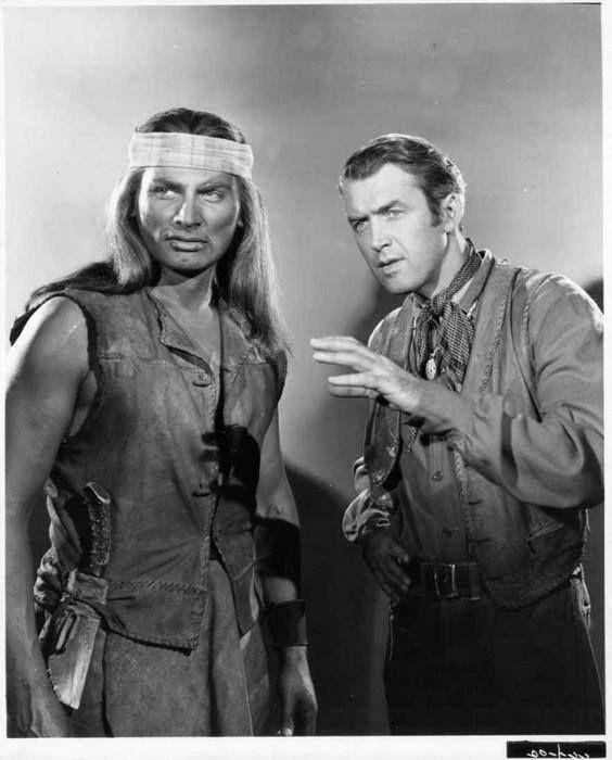 Jeff Chandler & James Stewart - Broken Arrow, 1950