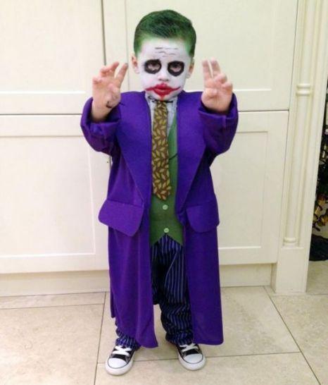 Joker costume for Sawyer