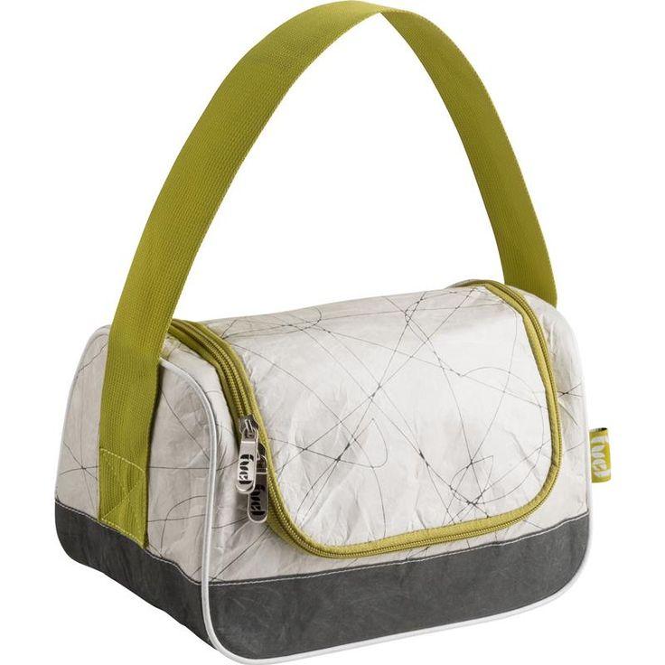 Fuel Vii Tyvek Hungry Lunch Bag Cdu Grey/White | Kitchen Stuff Plus