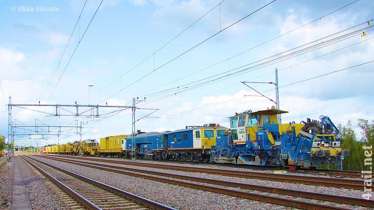 MOV Leonhard Weiss equipment at Abisko, Sweden