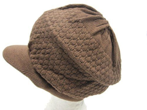 Rasta Knit Visor Hat, Winter Cap - Brown by AMC. $9.99. Features:Unisex eco-friendly beanieSuper comfortable for everyday useMatches well with your winter outfits so you stay warm all winter long100% Brand New Description:Style: Rasta Knit HatSize: One Size Fits MostAvailable Colors: Brown, Navy, White
