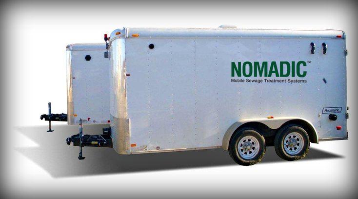 nomadic sewage system