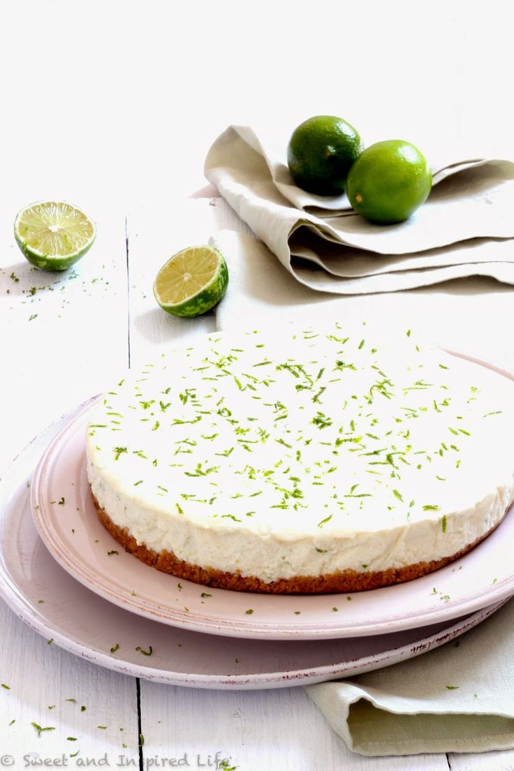 Sweet And Inspired Life...: Lime Cheesecake by Siba… from Siba's Table
