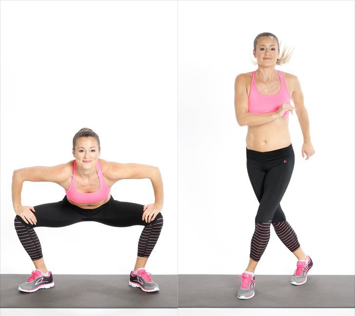 Pin for Later: The Ultimate List of the Best Bodyweight Exercises Plyometrics: Gate Swings
