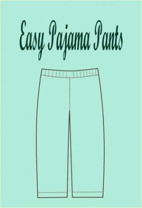 FREE SEWING PATTERN: easy pajama pattern