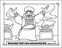 hezekiahs prayer for healing coloring pages | 363 best SS/KC/VBS Coloring pages images on Pinterest | Ss ...