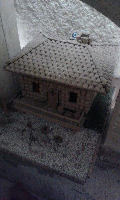 Şişe mantarlarindan ev. Ürgüp    /Nevsehir