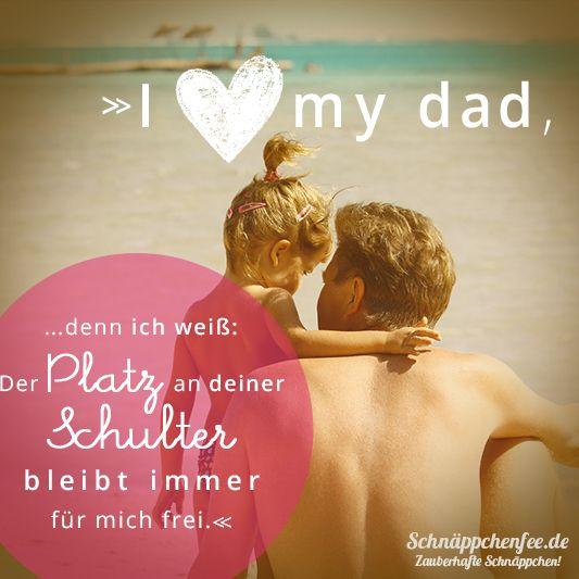 I love my dad...!