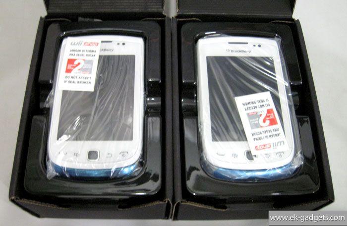 Blackerry jenning 9810 White Rp.3.670.000.- | Garansi 2-Tahun