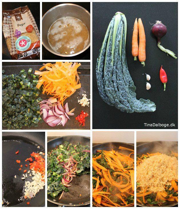 Fredagens kreative køkken serverer en opskrift med en (for mig) ny grøntsag
